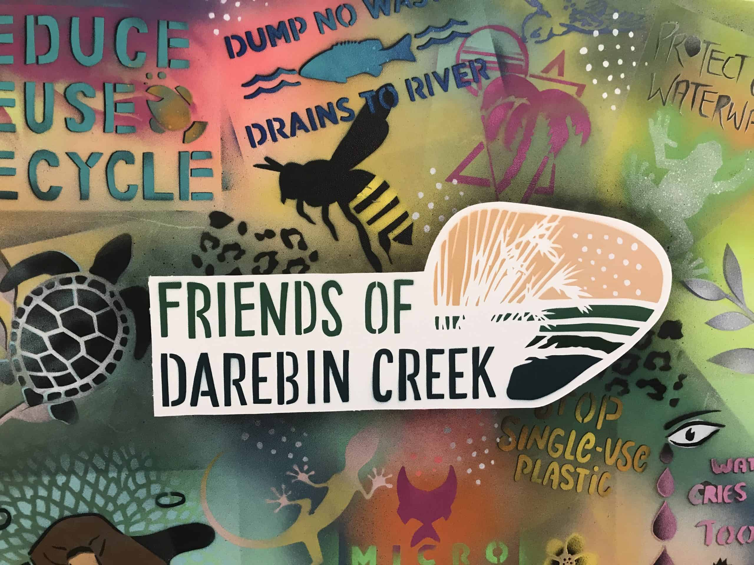 Darebin Creek Stencil Workshop